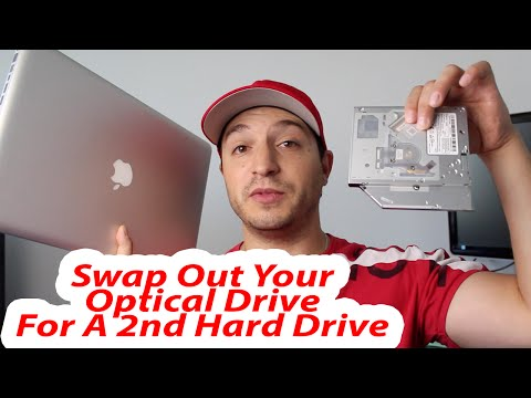 How To Replace Optical Drive With HHD/SSD Hard Drive MacBook Pro