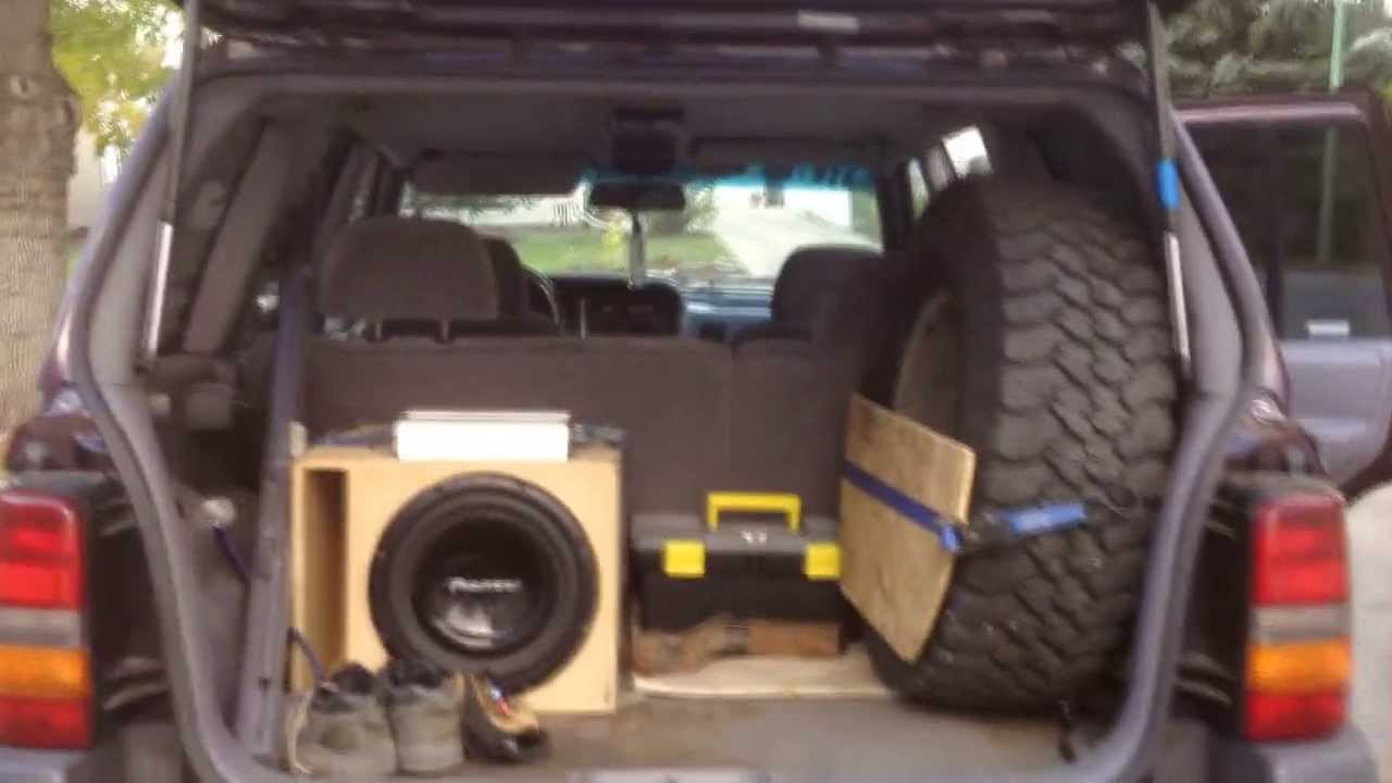 1997 Jeep Zedjay Where To Mount A Spare Tire And Make