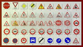 Learn french road signs,french speed limits,french street signs