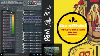 Trap Camp TM88 Kill Bill drum kit demo