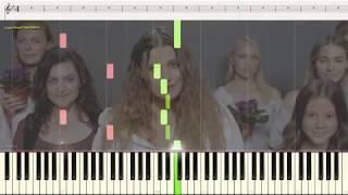 Плакала - KAZKA (Ноты и Видеоурок для фортепиано) (piano cover)