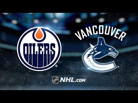 Edmonton Oilers Vs. Vancouver Canucks | NHL Game Recap | October 7, 2017 | HD