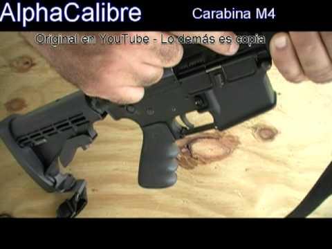 M4 Carabina - Hermana menor del M16 - .223 ó 5.56x45mm NATO