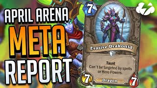 APRIL ARENA META REPORT | Tempo Storm Hearthstone [Ashes of Outland]