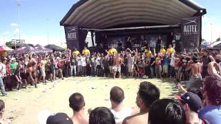 "Whitechapel Wall of Death ""This is Exile"" Warped Tour Las Cruces"
