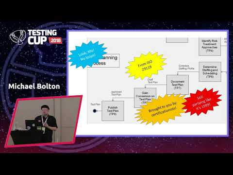 Michael Bolton: Agile Software Development And Rapid Software Testing