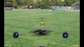 Симулятор вертолета(Как я летаю на вертолете радиоуправляемом., 2016-04-01T07:33:30.000Z)
