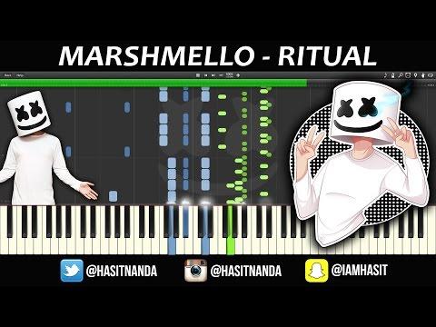 Marshmello - Ritual (Piano Tutorial)