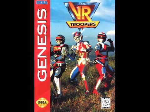 VR Troopers (Sega Genesis)