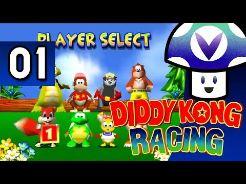 [Vinesauce] Vinny - Diddy Kong Racing (part 1)