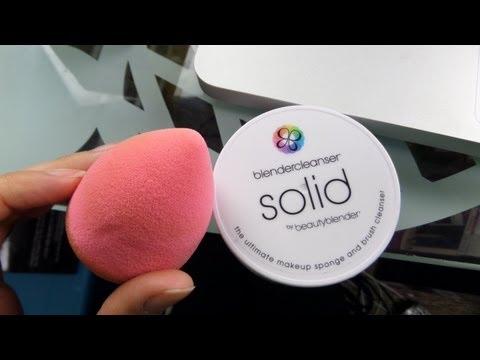 Beauty Blender Solid Cleanser Demo !