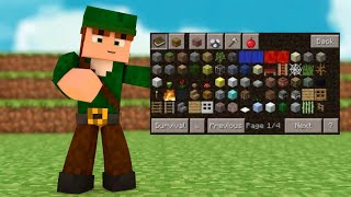 MINECRAFT PE 0.14.0 - POCKET MANAGER MOD : TOO MANY ITEMS PARECIDO COM PC ? (POCKET EDITION)