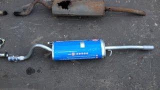 Замена резонатора и глушителя ВАЗ(, 2013-08-28T18:24:48.000Z)