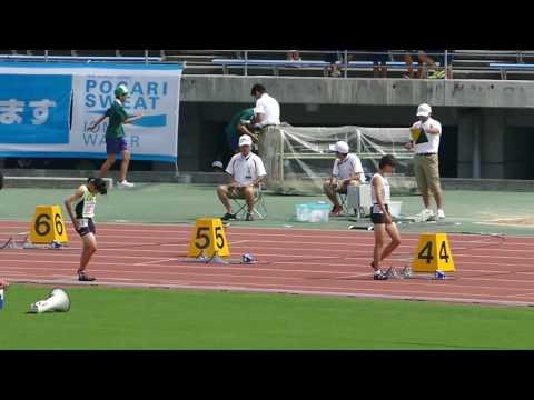 20140818香川全中女子200m予選6組
