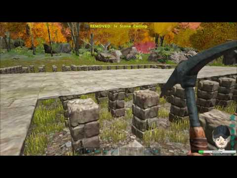 Ark Survival Evolved Creative Building - Roman Coliseum (Coliseum foundation #2) - Stream #4