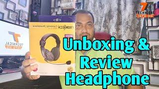 Unboxing Frontech Computer Headphone Technical Info Hd Assamess