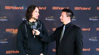 #02 Isaac Dumont Interview; V-Drums World Championship 2012