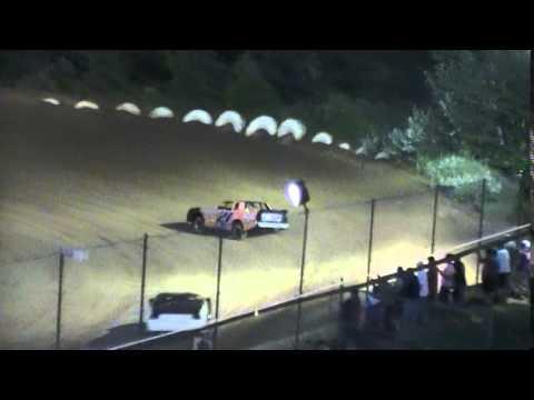 Crowley's Ridge Raceway 6/6/15 #21 Chris Sims Street Stock Heat Race