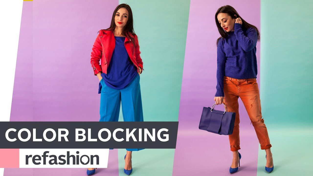 Fashion week How to colour wear blocking trend for lady