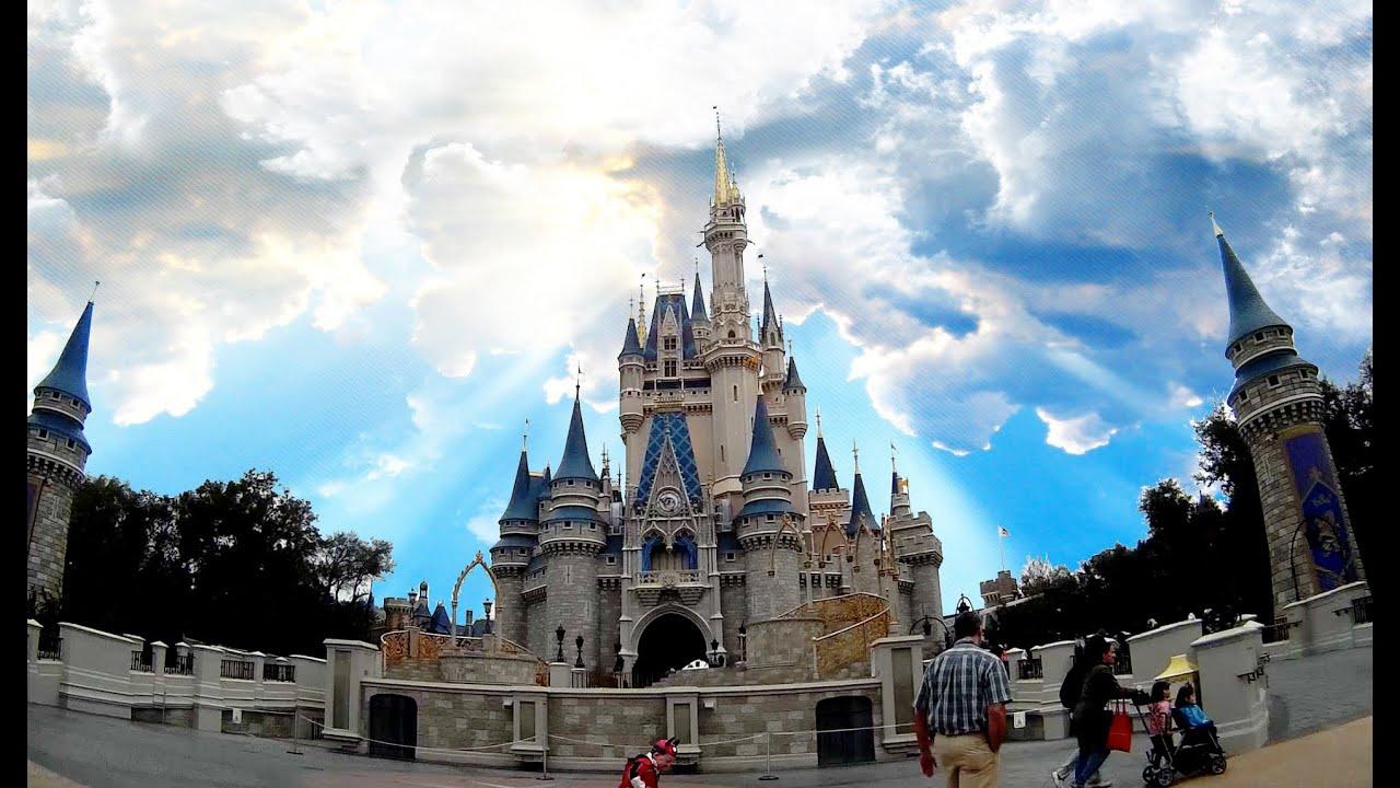 Inside Cinderella Castle Walt Disney World HD POV 1080p