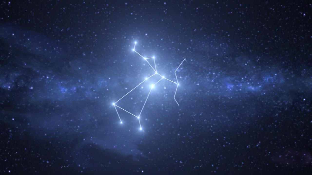 Sagittarius Constellation / Zodiac - Free motion graphics