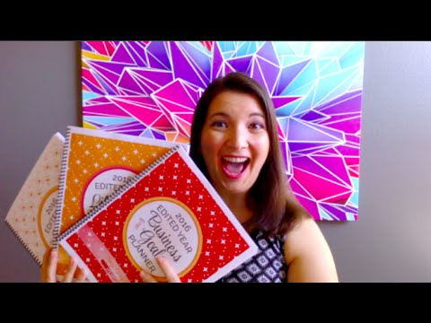 2016 Edited Year Planners by Sage Grayson Life Editor
