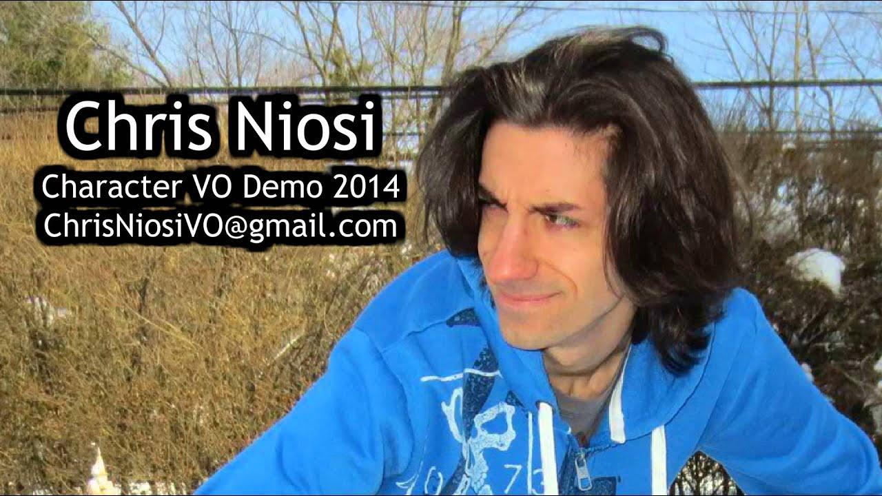 chris niosi - character vo demo reel