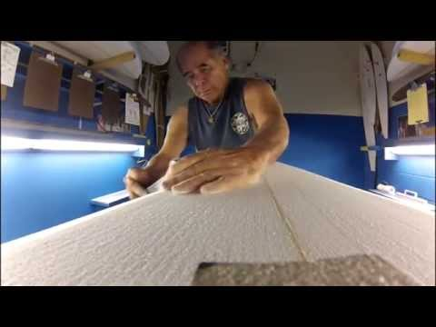 This Is How Ben Aipa Shapes A Surfboard