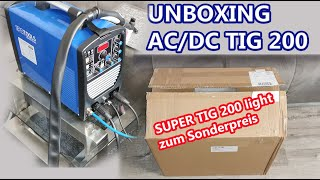 JETZT KOMMT DIE SUPER TIG 200 light zum Kampfpreis - IPOTOOLS ACDCTIG 200P WIG Schweißgerät