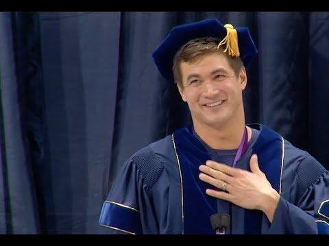 Berkeley Alum Nathan Adrian video | 2018 Winter Commencement