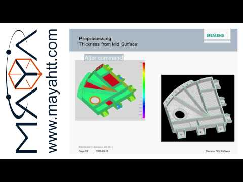 Webinar: Efficient analysis with Femap 11.2