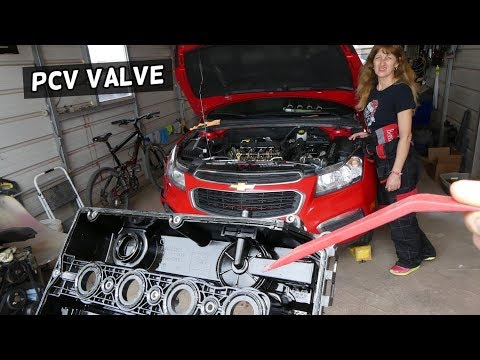 PCV VALVE MEMBRANE LOCATION REPLACEMENT CHEVROLET CRUZE CHEVY SONIC