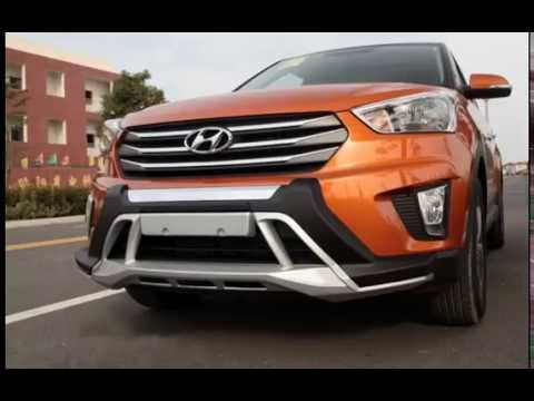 Hyundai Creta Front And Rear Bumper Guard Srm Car Plus