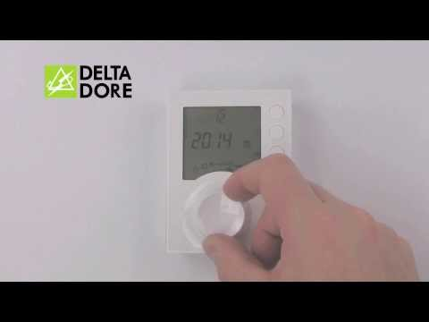 Programmable Thermostat TYBOX 137 | Advice from Delta Dore