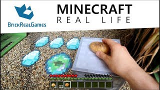 Realistic Minecraft in Real Life - IRL Animation - Top 5 Best Epizode - Cactus