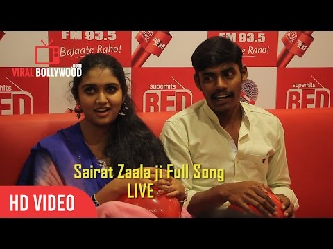 Rinku Rajguru Singing Live | Sairat Zaala ji Song | Sairat Movie | RED FM 93.5