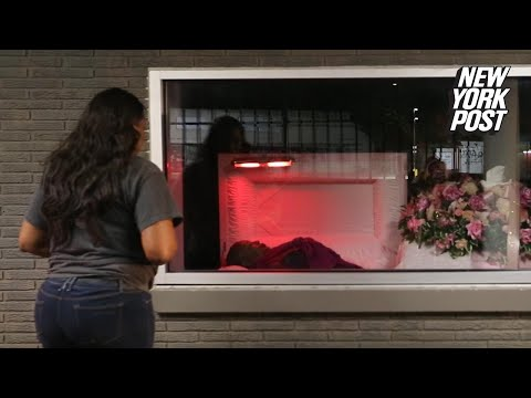 Drive-thru funeral tries to make it a 'fun thing'