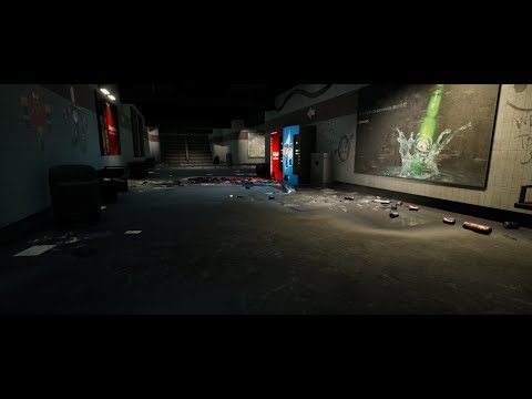 Making of Subway 3ds max Unreal engine tutorial part - 3