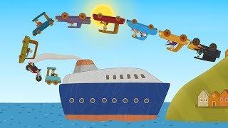 Машинки - Новый мультик для детей Катер - Лучшие серии