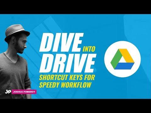 Google Drive Keyboard Shortcuts