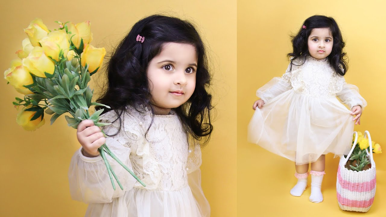 How to do TODDLER Photoshoot at Home [ideas & tips] - Two Year Old Baby  Girl Photoshoot - YouTube