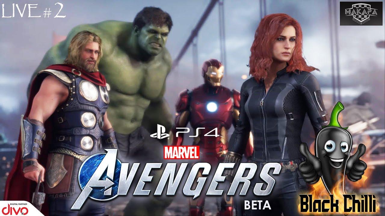🔴 Marvel: Avengers Beta - PS4 Live #02 Tamil With Makapa Esports Company🔴 | Ps4 Gaming🎮 Tami