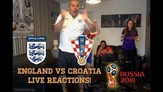 England vs Croatia, 2018 World Cup Semi Final LIVE Fan Reactions!
