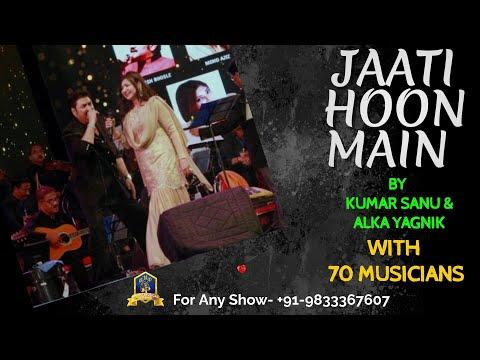 Jaati Hoon Main I Karan Arjun I Rajesh Roshan I Kumar Sanu I Alka Yagnik I Live With 50 Musicians indir