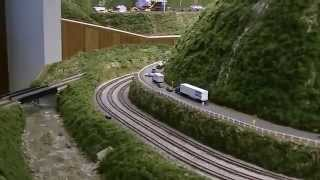 N & J Lines N scale model railroad... layout tour