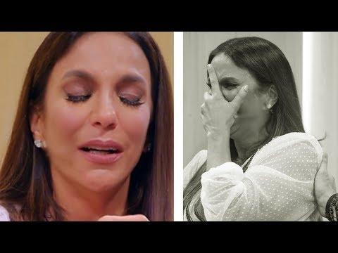 Cantora Ivete Sangalo é flagrada aos prantos e assunto repercute na internet