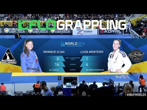 Monique Elias VS Luiza Monteiro / World Championship 2016