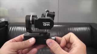 видео 3-х осевой стабилизатор FeiyuTech FY-WG2