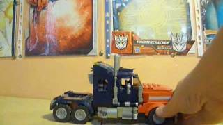 [French] Review Kre-O Optimus Prime mode camion + remorque