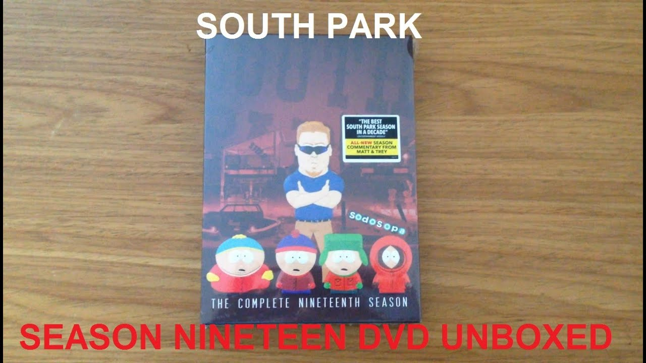 south park season 19 new 2016 unboxing dvd box set review youtube. Black Bedroom Furniture Sets. Home Design Ideas